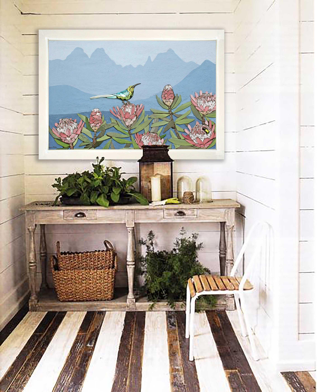 Sarah-Pryke---protea-mosaic-at-home